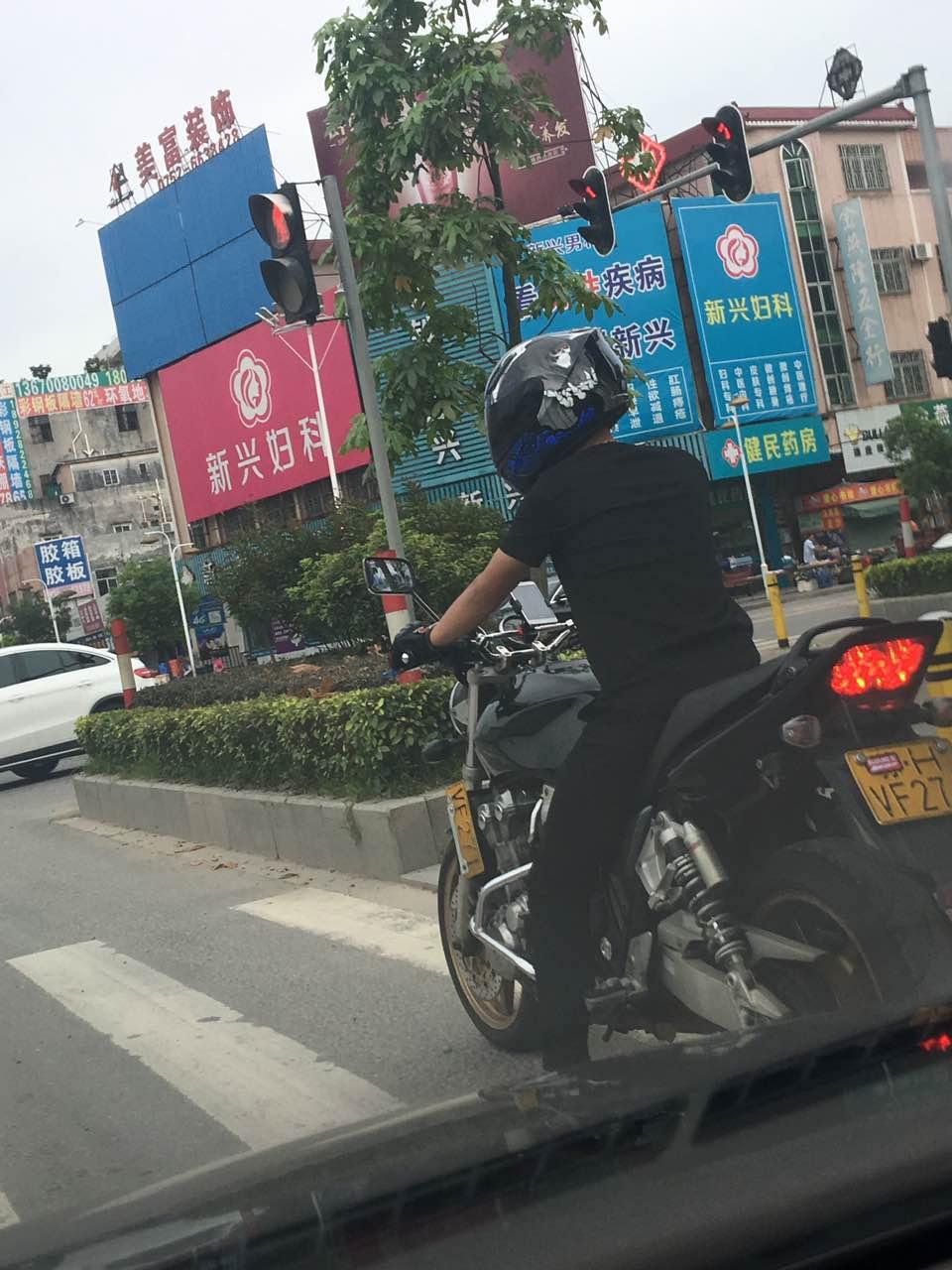 车友在惠州拍到的骗子照片!