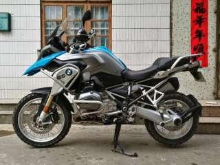 广西贺州市,2014年顶配BMW钢丝圈宝马R1200gs蓝色水鸟