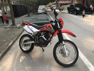 河源市区出售CRQ250越野摩托车